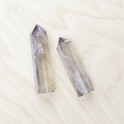 Smoky Quartz Crystal Pointed Wand