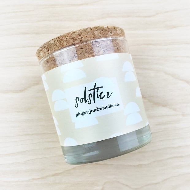 Solstice Soy Candle
