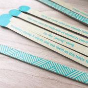 Spark Inspirational Matchsticks with Quotes by Chronicle Books Shop Jupiter Goods