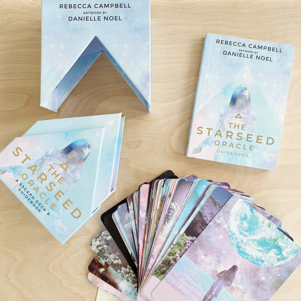 Starseed 53 Card Oracle Deck  and Guidebook by Rebecca Campbell Shop Jupiter Goods