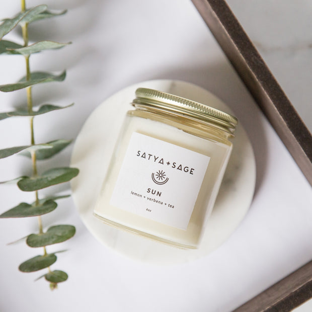 Sun ~ 6oz Soy Candle