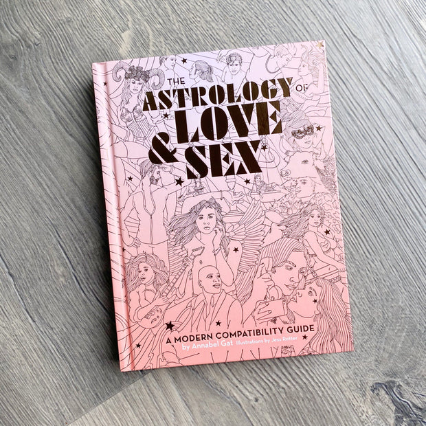 The Astrology of Love and Sex A Modern Compatibility Guide by Annabel Gat Shop Jupiter Goods