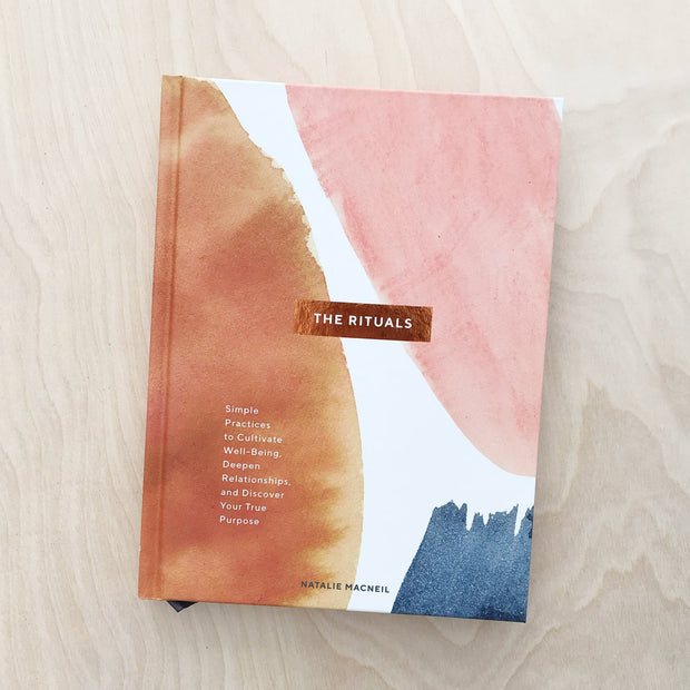 The Rituals Simple Practices to Cultivate Well-Being Library by Natalie Macneil Shop Jupiter Goods