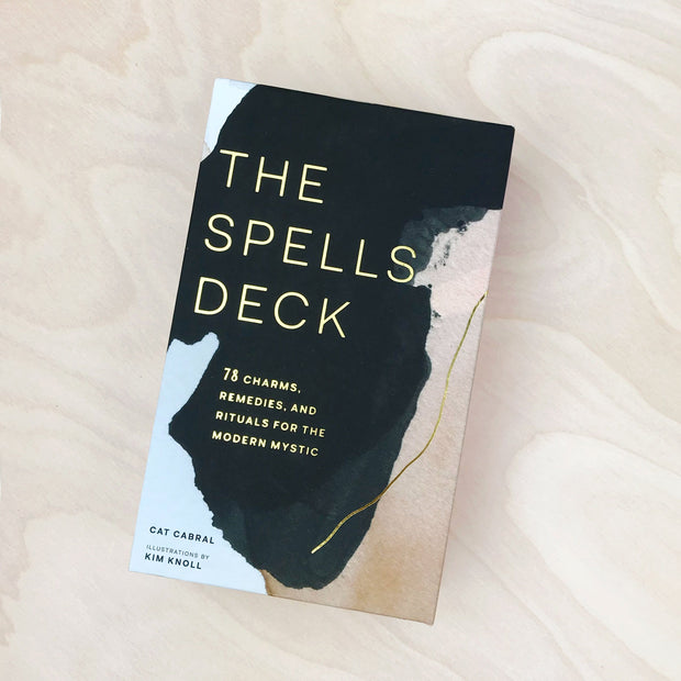 The Spells Deck ~ 78 Charms, Remedies, and Rituals for the Modern Mystic