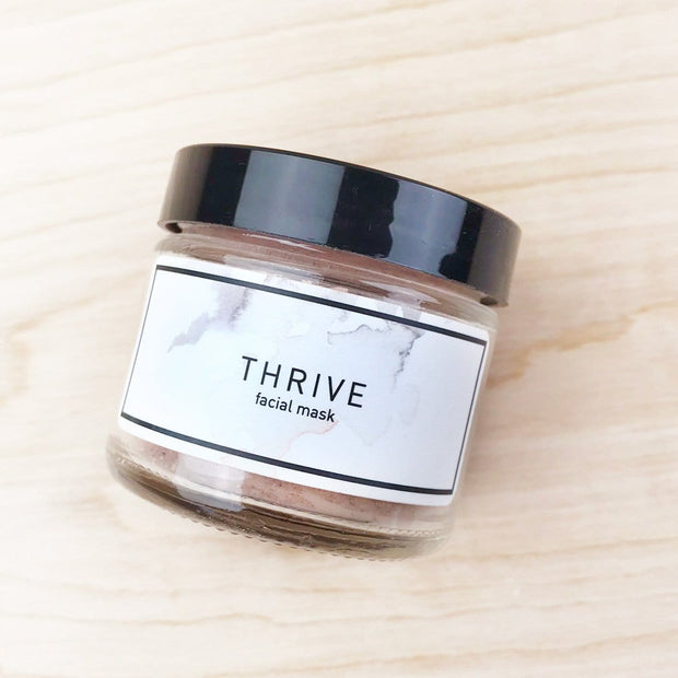 Thrive Facial Mask Pink Clay Rejuvenating The Good Hippie Shop Jupiter Goods