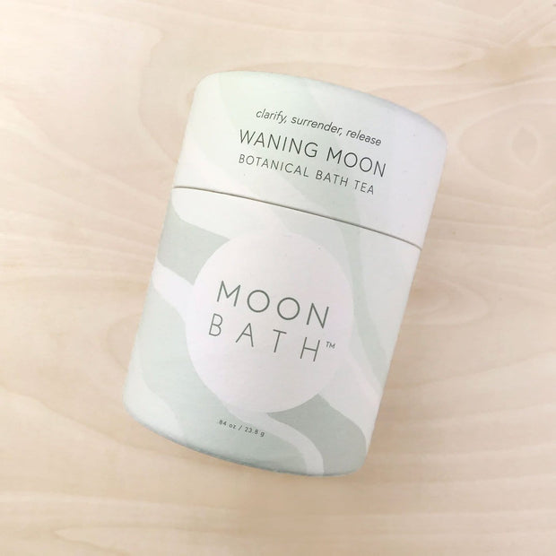 Waning Moon Bath Tea Clarify Surrender Release Moon Bath Shop Jupiter Goods