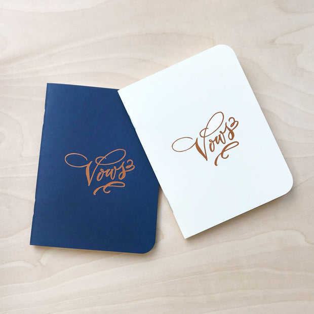 Vows ~ A Wedding Notebook Set