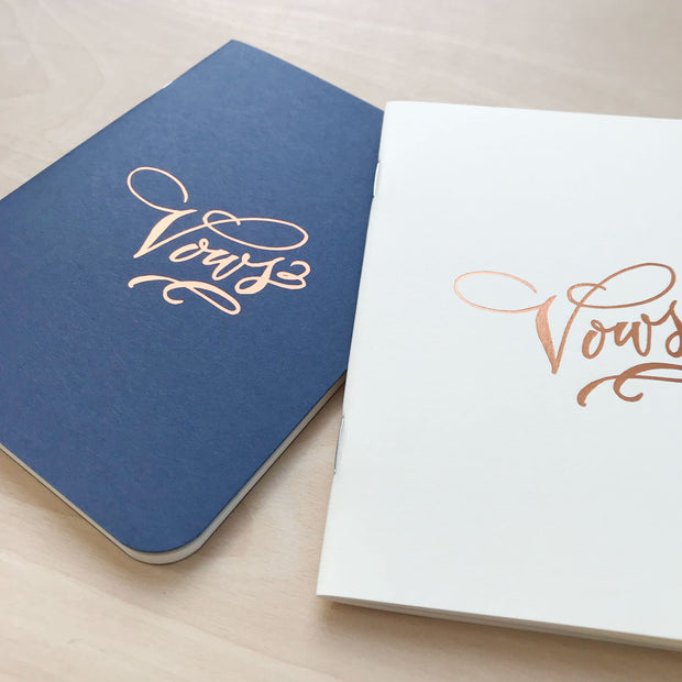Vows Wedding Notebook Set Love by Antiquaria Shop Jupiter Goods