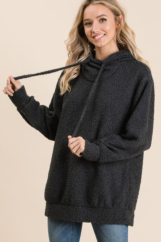 Midnight Solid Sweater