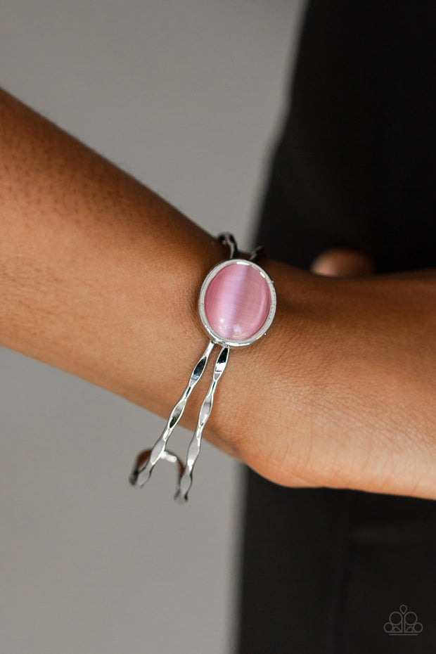 Lets Get Things GLOWING! Pink Bracelet - Glitzygals5dollarbling Paparazzi Boutique