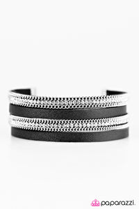 Flash Mob Fashion Black Urban Bracelet