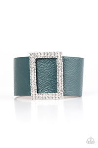 Paparazzi STUNNING For You Blue Teal Urban Bracelet