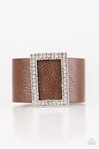Paparazzi Stunning For You Brown Urban Bracelet