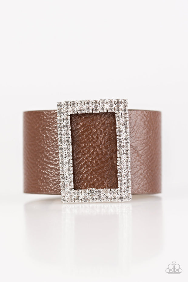 Paparazzi Stunning For You Brown Urban Bracelet - Glitzygals5dollarbling Paparazzi Boutique