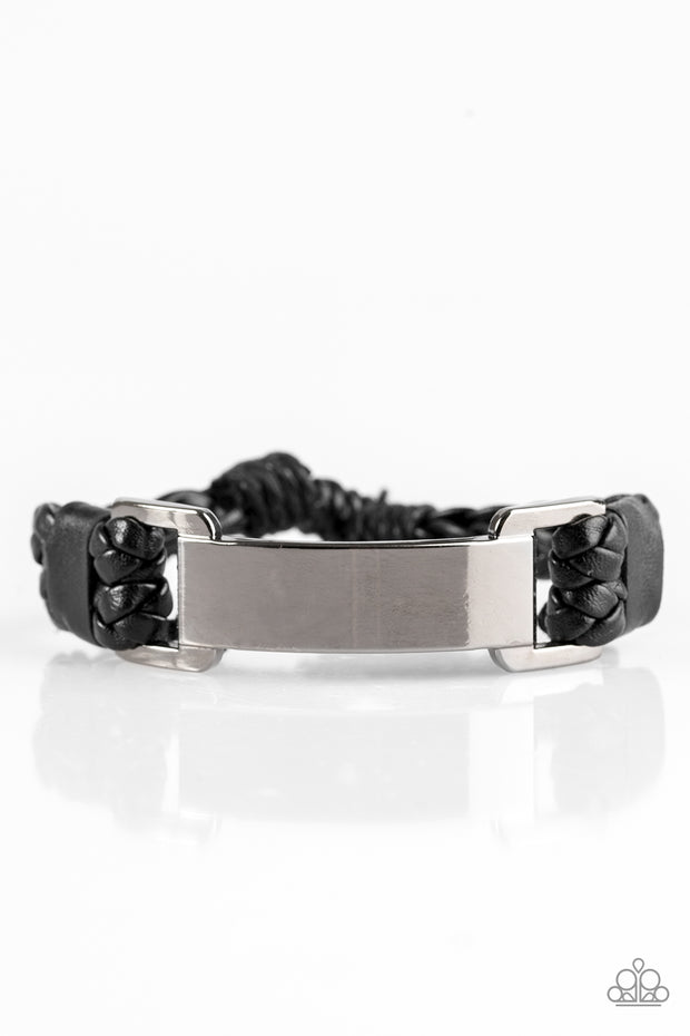 Paparazzi Traffic Jam Black Urban Bracelet UNISEX - Glitzygals5dollarbling Paparazzi Boutique