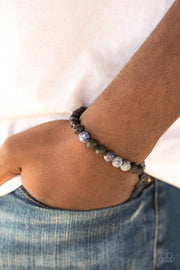 Paparazzi Ambition Blue Urban Bracelet - Glitzygals5dollarbling Paparazzi Boutique