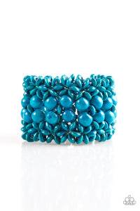 Paparazzi Tropical Bliss Blue Bracelet