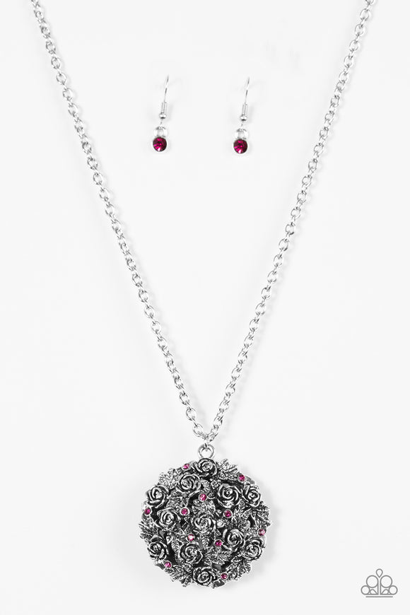 Royal In Roses Pink Necklace