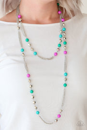 Paparazzi Beautifully Bodacious Multi Necklace - Glitzygals5dollarbling Paparazzi Boutique