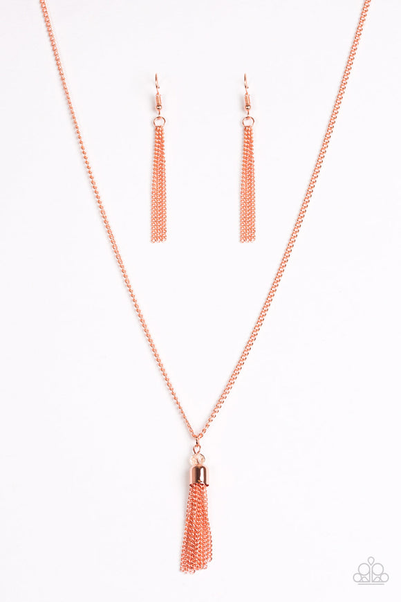 Paparazzi City Casual Copper Necklace