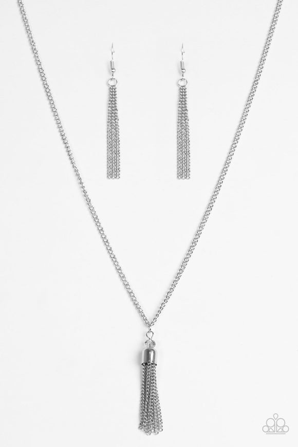 Paparazzi City Casual Silver Necklace