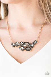 Paparazzi Urban Dynasty Gold Necklace - Glitzygals5dollarbling Paparazzi Boutique