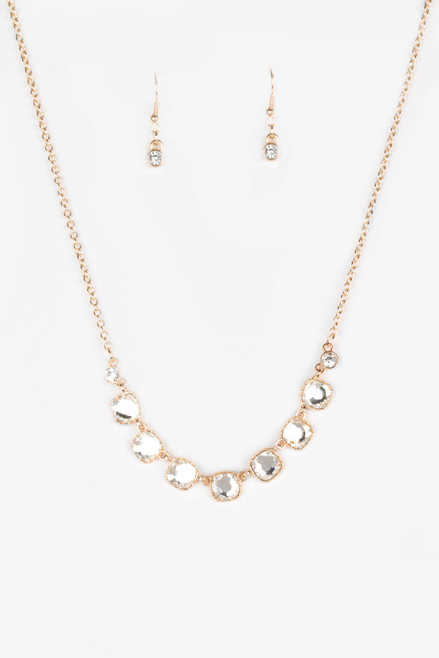 Deluxe Luxe Gold Necklace - Glitzygals5dollarbling Paparazzi Boutique