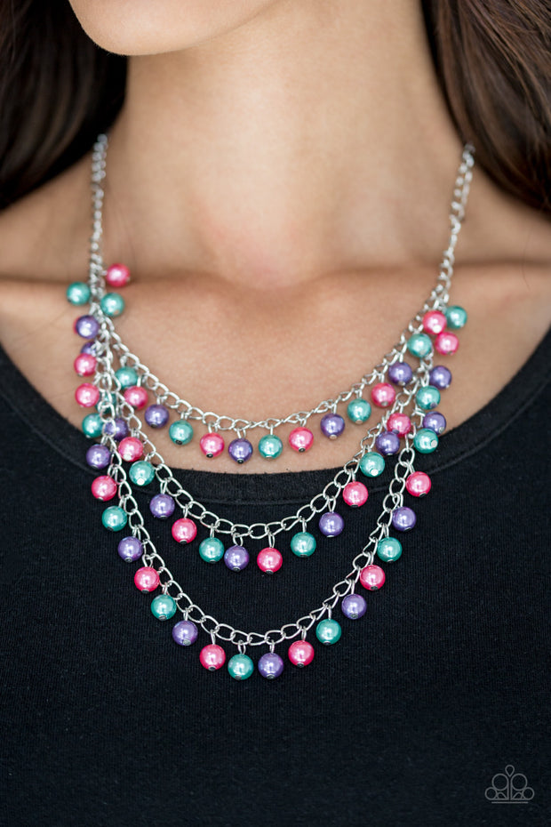 Chicly Classic Multi Necklace - Glitzygals5dollarbling Paparazzi Boutique