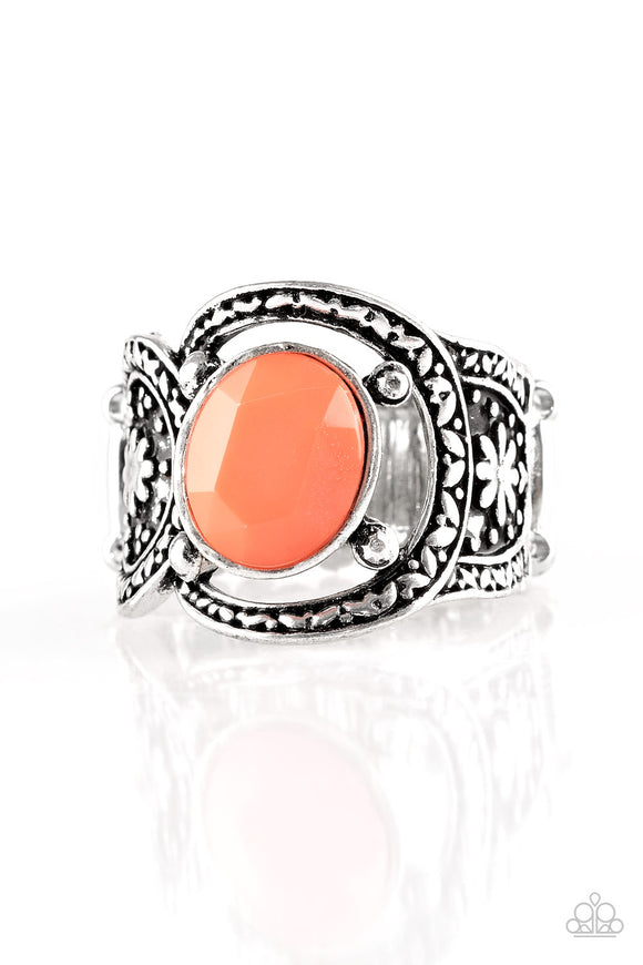Paparazzi Vacation Vibes Orange Ring