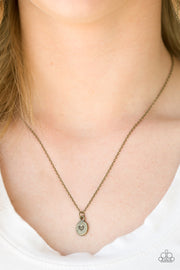 Paparazzi Live For Love Brass Necklace - Glitzygals5dollarbling Paparazzi Boutique