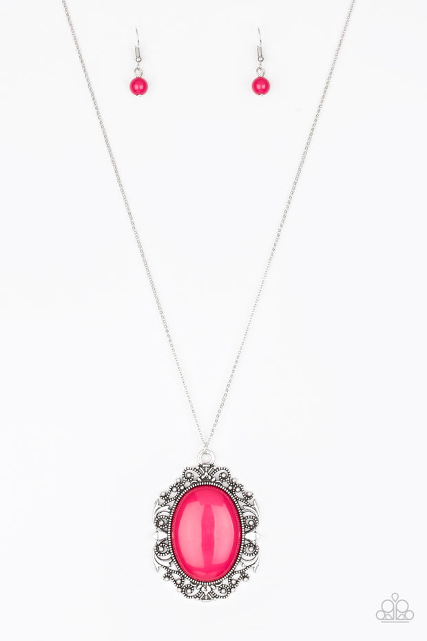 Paparazzi Vintage Vanity Pink Necklace - Glitzygals5dollarbling Paparazzi Boutique