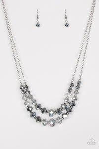 Paparazzi Strikingly Spellbinding Silver Necklace
