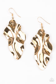 Paparazzi Fall Into Fall Gold Earrings - Glitzygals5dollarbling Paparazzi Boutique