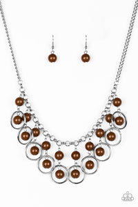 Really Rococo Brown Necklace