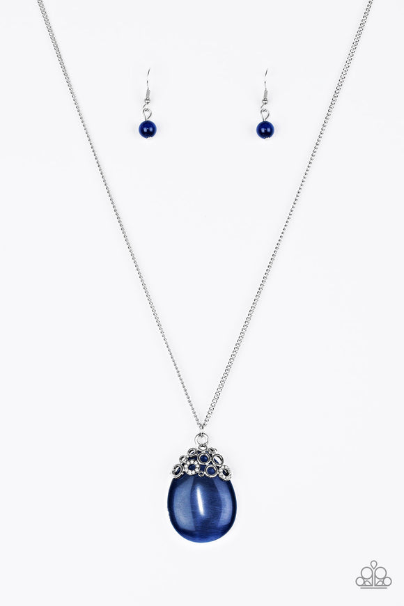 Nightcap and Gown Blue Moonstone Necklace