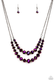 Paparazzi Strikingly Spellbinding Purple Necklace - Glitzygals5dollarbling Paparazzi Boutique