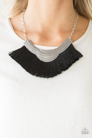 My PHARAOH Lady Black Necklace - Glitzygals5dollarbling Paparazzi Boutique