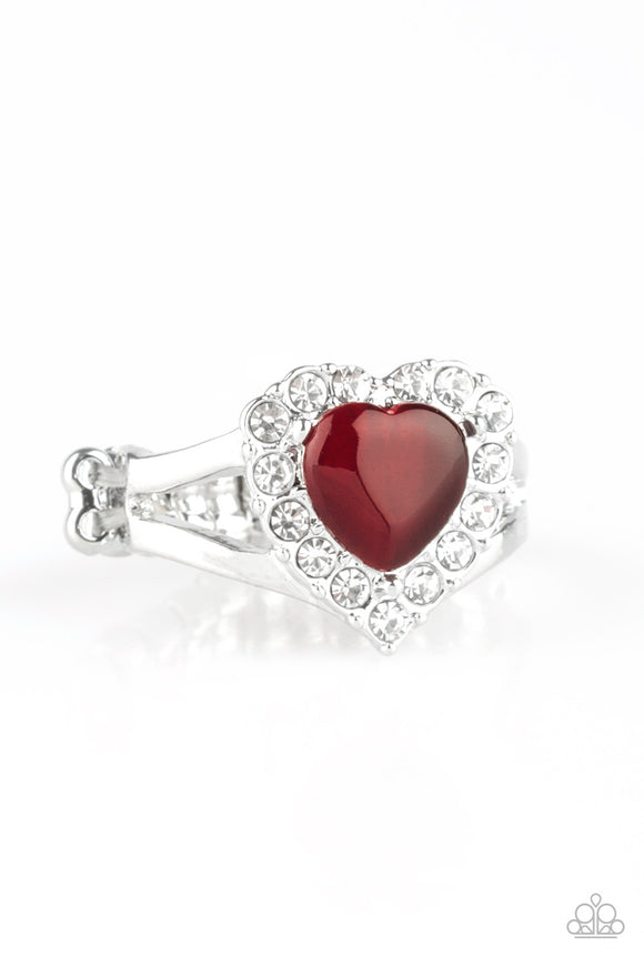 Paparazzi Accessories Love is in the air heart ring