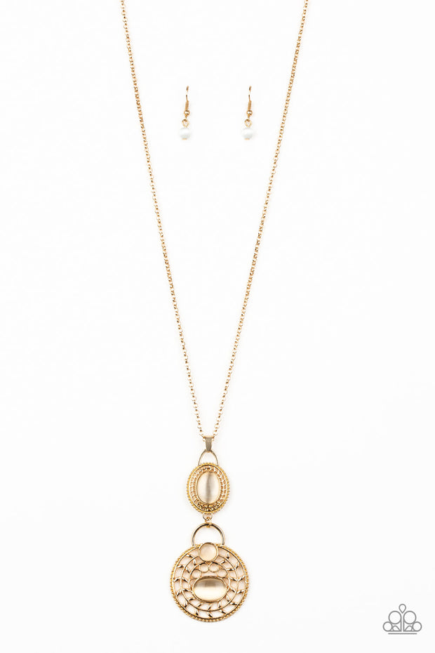 Paparazzi Hook, VINE, and Sinker Gold Necklace - Glitzygals5dollarbling Paparazzi Boutique