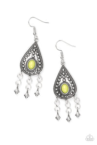 Paparazzi Sahara Song Green EXCLUSIVE Earrings