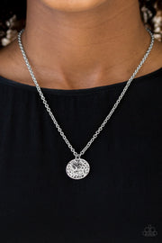Live TREELY - Silver Necklace - Glitzygals5dollarbling Paparazzi Boutique