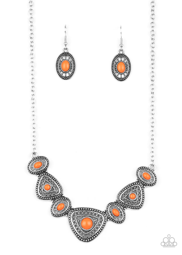 Totally TERRA-torial - Orange - Glitzygals5dollarbling Paparazzi Boutique