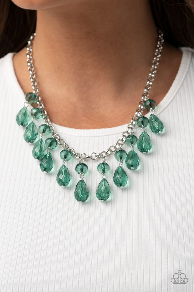Crystal Enchantment - Green - Glitzygals5dollarbling Paparazzi Boutique