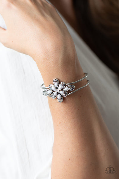 Go With The FLORALS - Silver