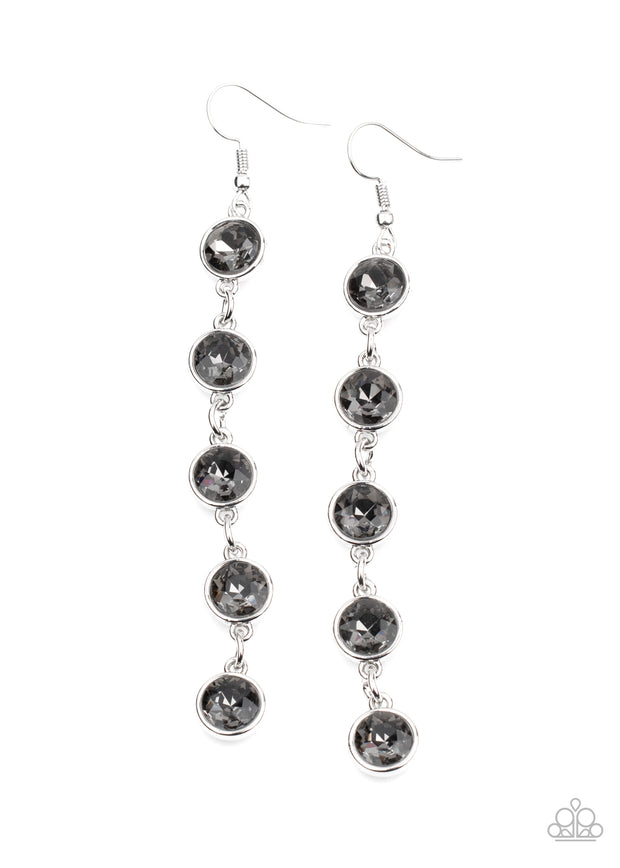 Trickle Down Twinkle - Silver - Glitzygals5dollarbling Paparazzi Boutique
