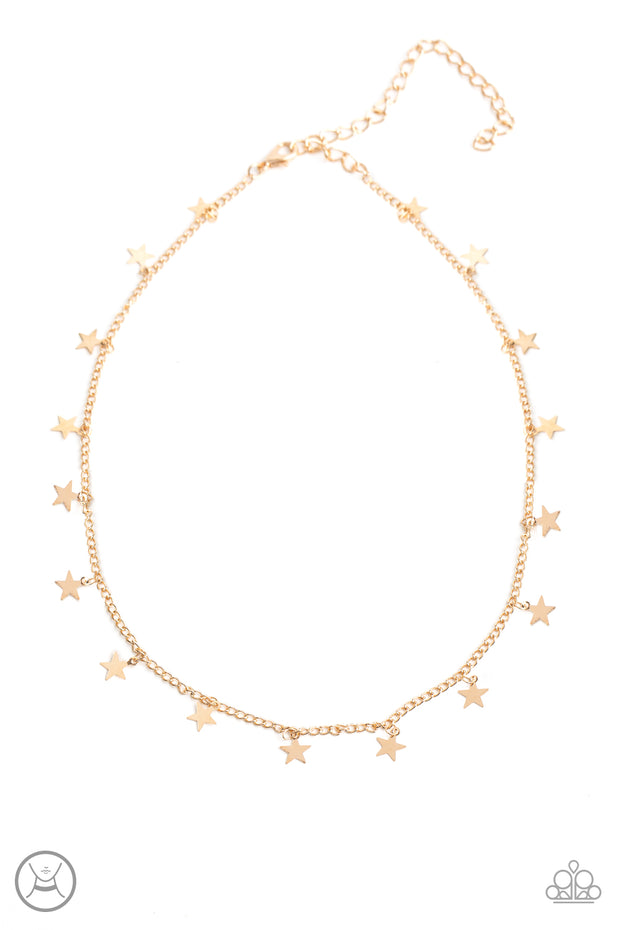 Starry Skies - Gold - Glitzygals5dollarbling Paparazzi Boutique