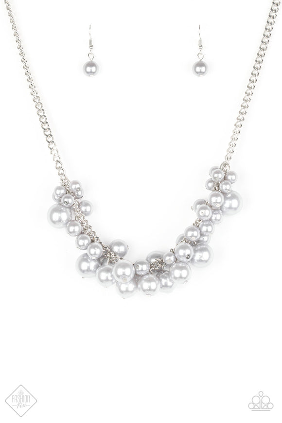 Glam Queen Silver Necklace Fashion Fix EXCLUSIVE