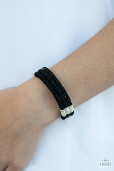 Paparazzi Rural Rogue - Black Urban Bracelet