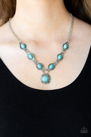 Paparazzi Desert Dreamin' Blue Turquoise Necklace - Glitzygals5dollarbling Paparazzi Boutique