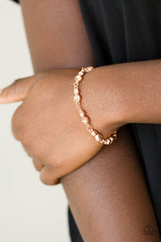Paparazzi Twinkle Twinkle Little STARLET Shiny Copper Bracelet - Glitzygals5dollarbling Paparazzi Boutique
